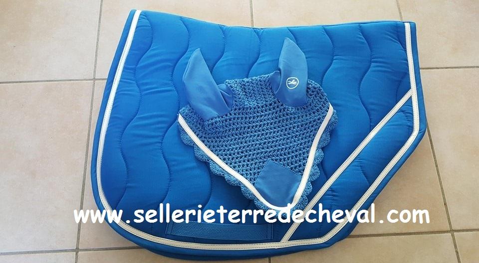 Tapis Equi Theme Jump Bleu Equi Theme 204680036